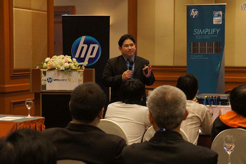 สัมมนาเปิดโลก Virtualization กับ HP และ VMware โดย QuickServ